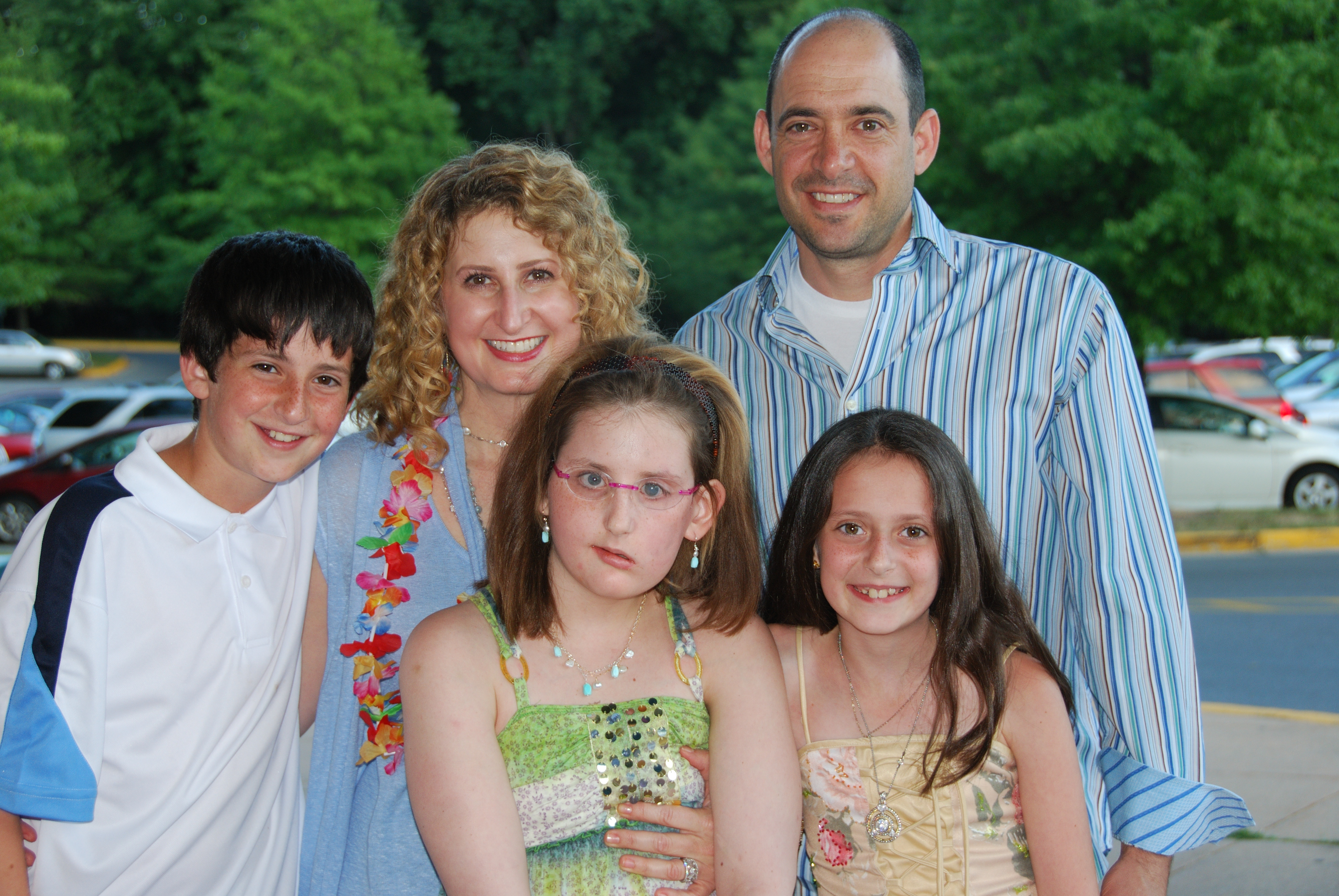 Kayla Elementary School Graduation With Sam Laurie Eric And Madeleine Wenger 06 14 2011