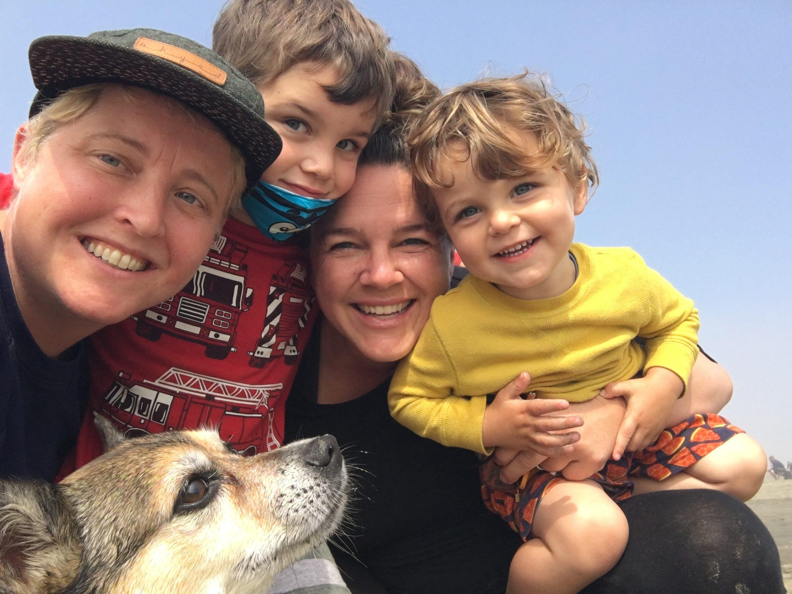 Meg Ferrill And Her Family