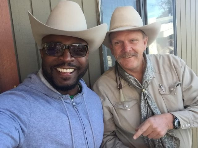 Rudy Rush With His Rodeo Friends