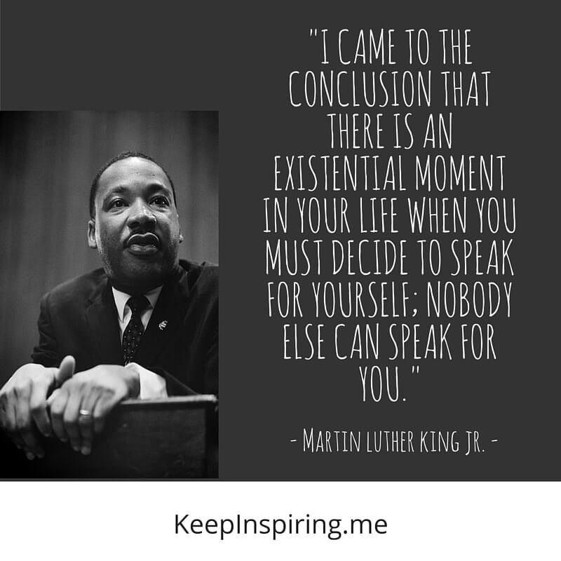 INSPIRATIONAL QUOTES BY MARTIN LUTHER KING Jr. - The ...