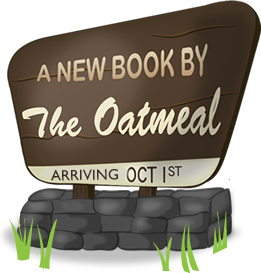 A new book by The Oatmeal