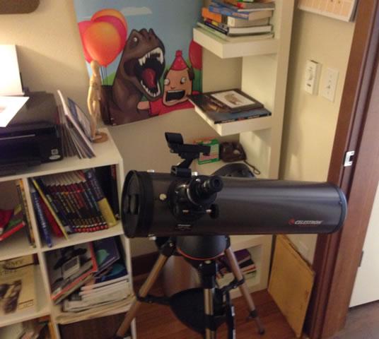 fancy shmancy telescope