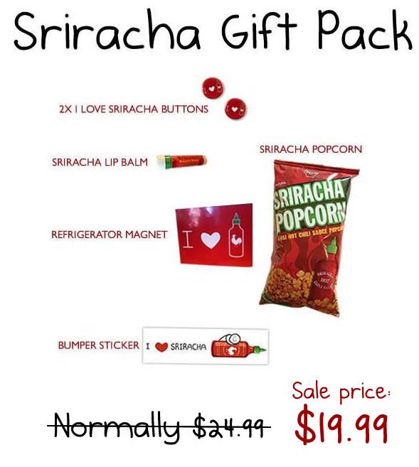 The Ultimate Sriracha Gift Pack