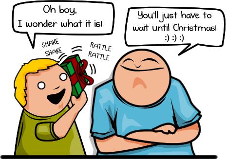 Explosives for Christmas