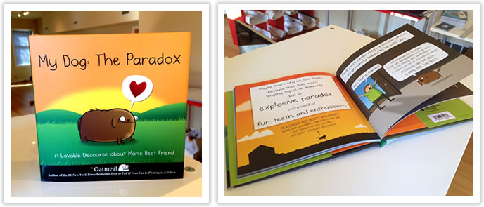 My Dog: The Paradox got turned into a book!