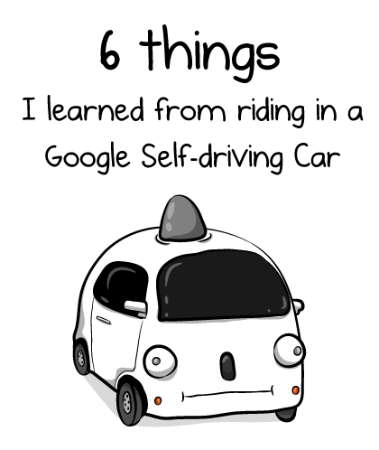 6 things I learned from riding in a Google self-driving car