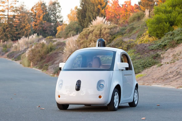 The road ready version of Google's self-driving car