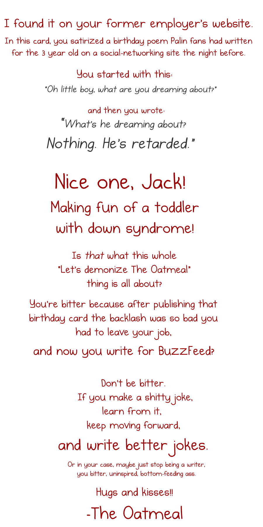 I wrote a response to Jack Stuef's BuzzFeed article about me