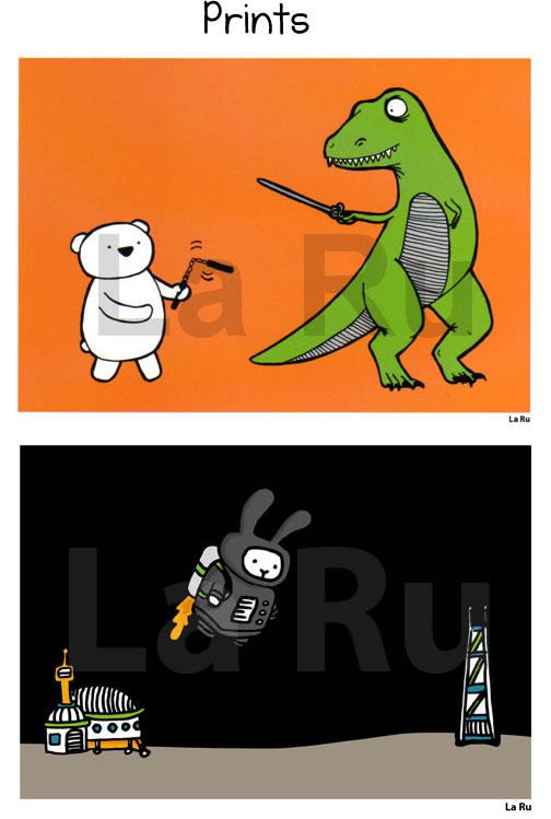 Prints by LaRu
