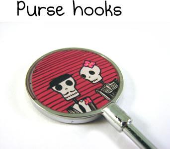 Purse Hooks by LaRu