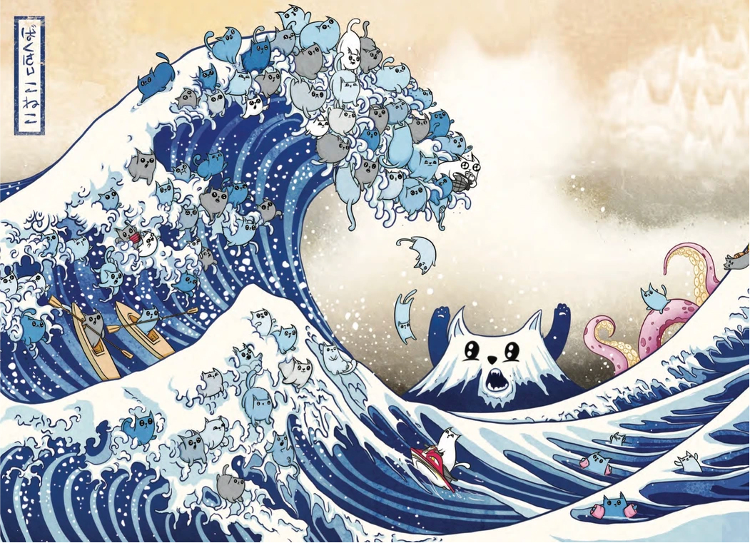 The great wave off Cat-a-gawa