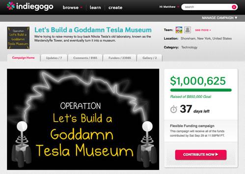 $1 million raised