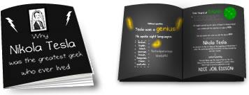 Tesla Geek Booklet