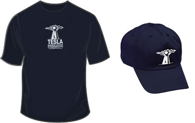 Wardenclyffe t-shirt and hat