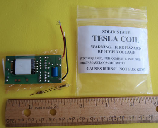 Miniature Tesla Coil