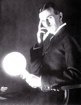 Glossy Tesla photo