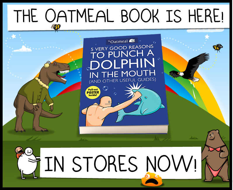 The Oatmeal book has arrived!