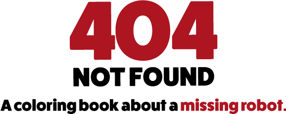404 Not Found A Coloring Book By The Oatmeal