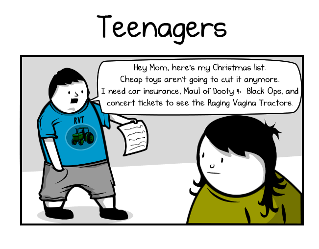 Christmas Comics.How Different Age Groups Celebrate Christmas The Oatmeal