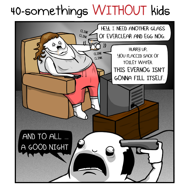 The oatmeal dating at different ages
