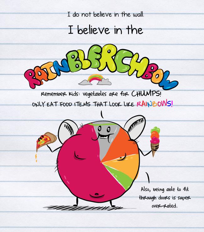 I believe in the RainBlerchBow
