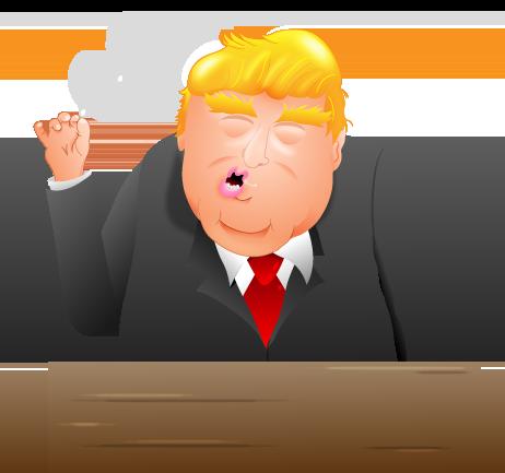 I created some Donald Trump Emojis - The Oatmeal
