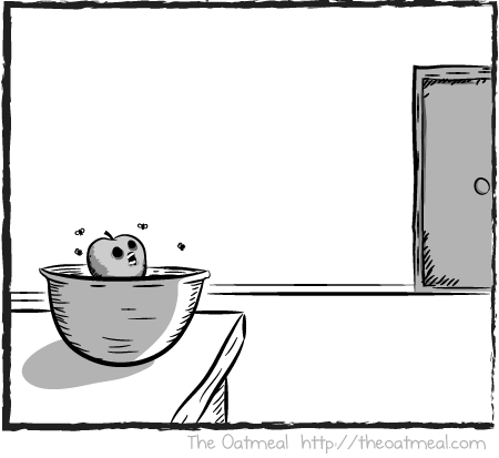 My Relationship With Fruit The Oatmeal