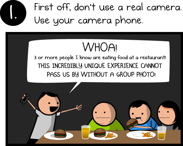 how to take incredible photos of your friends the oatmeal