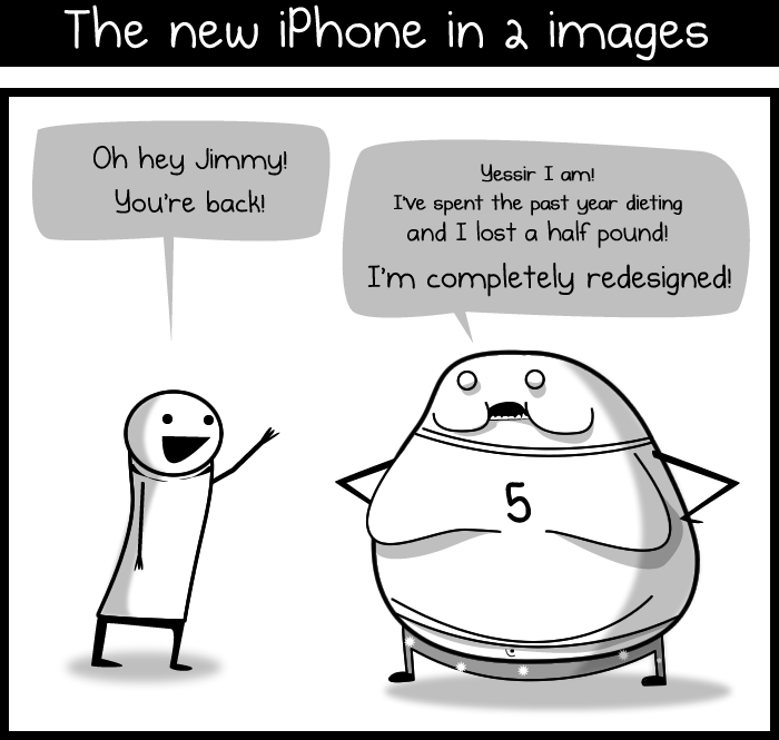 The new iPhone in 2 images
