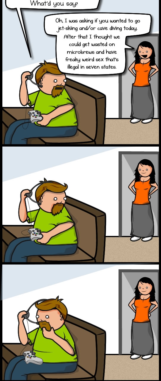 What It S Like To Play Online Games As A Grownup The Oatmeal