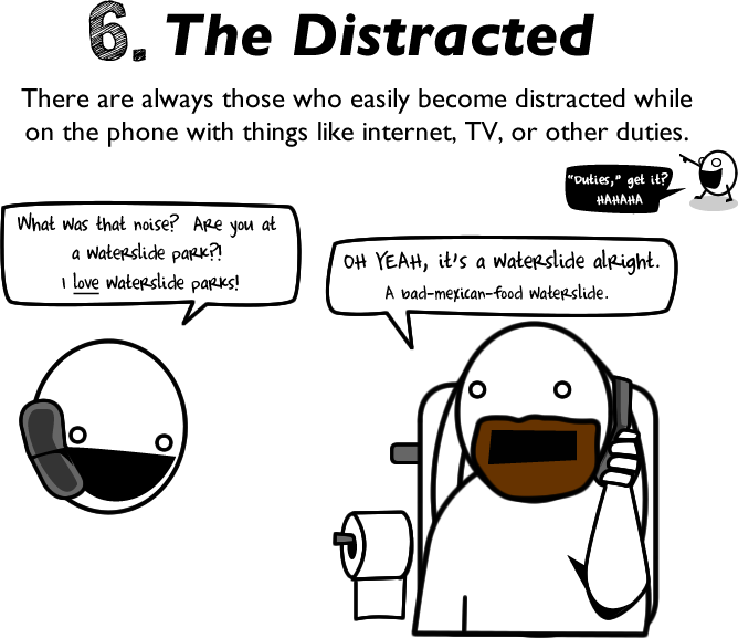 10 reasons to avoid talking on the phone - The Oatmeal