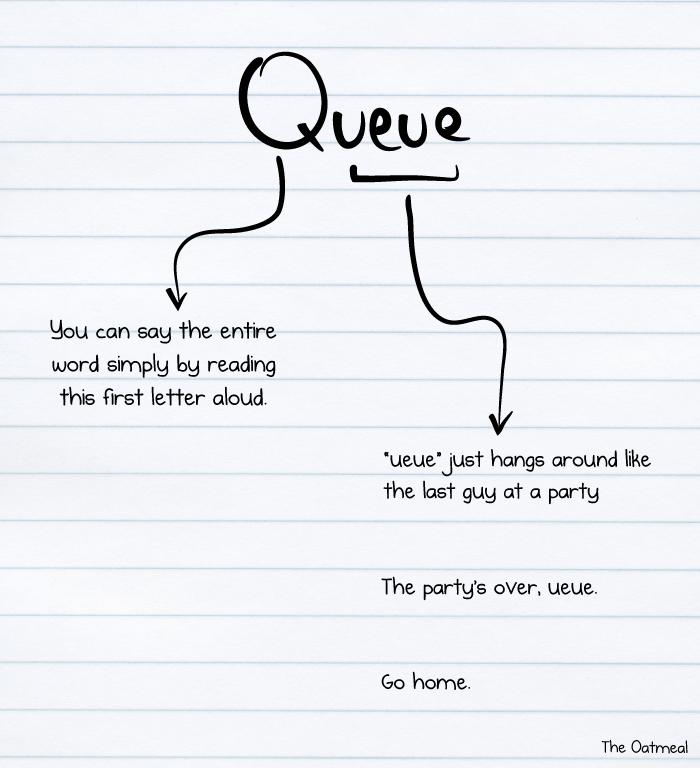 Go home, ueue