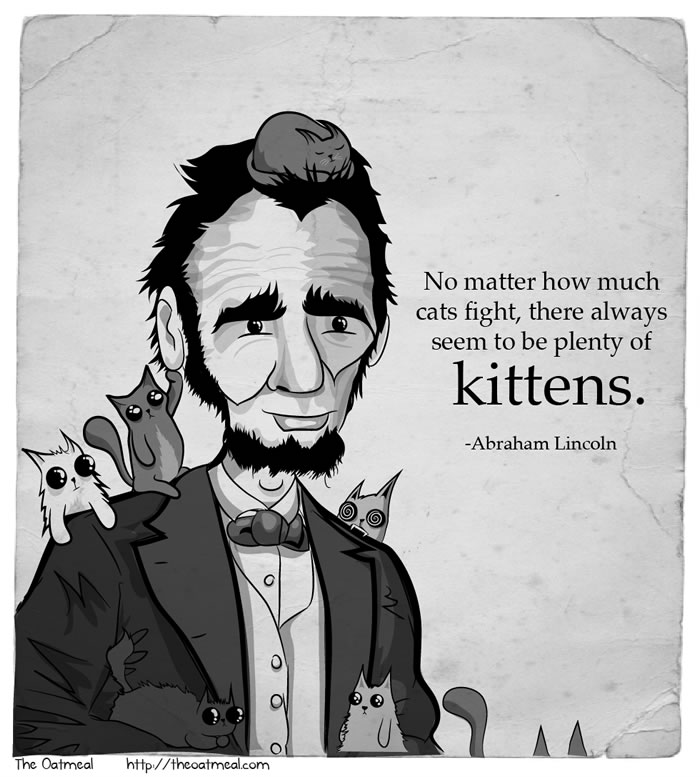 Quotes From The Movie Lincoln: I Took Some Quotations From People I Like And Illustrated