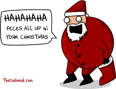 The Miserable Truth About Santa Claus The Oatmeal