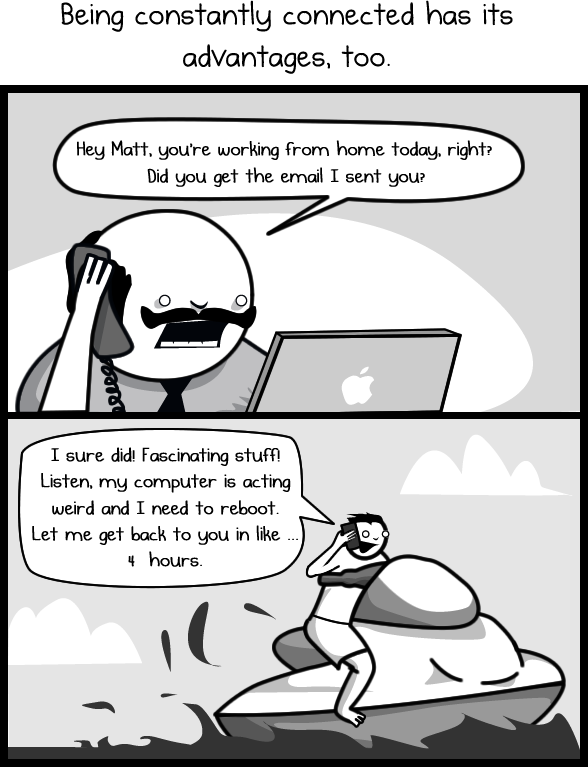 Why I love and hate having a smartphone - The Oatmeal