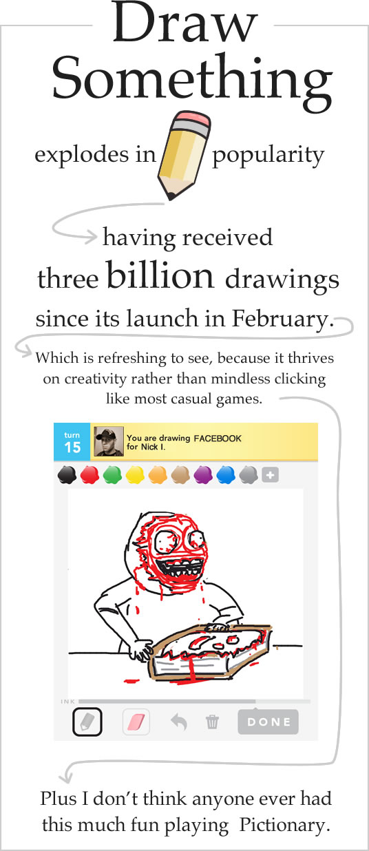 Draw something explodes in popularity