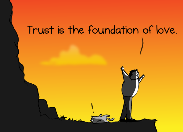 trust is a tricky thing the oatmeal