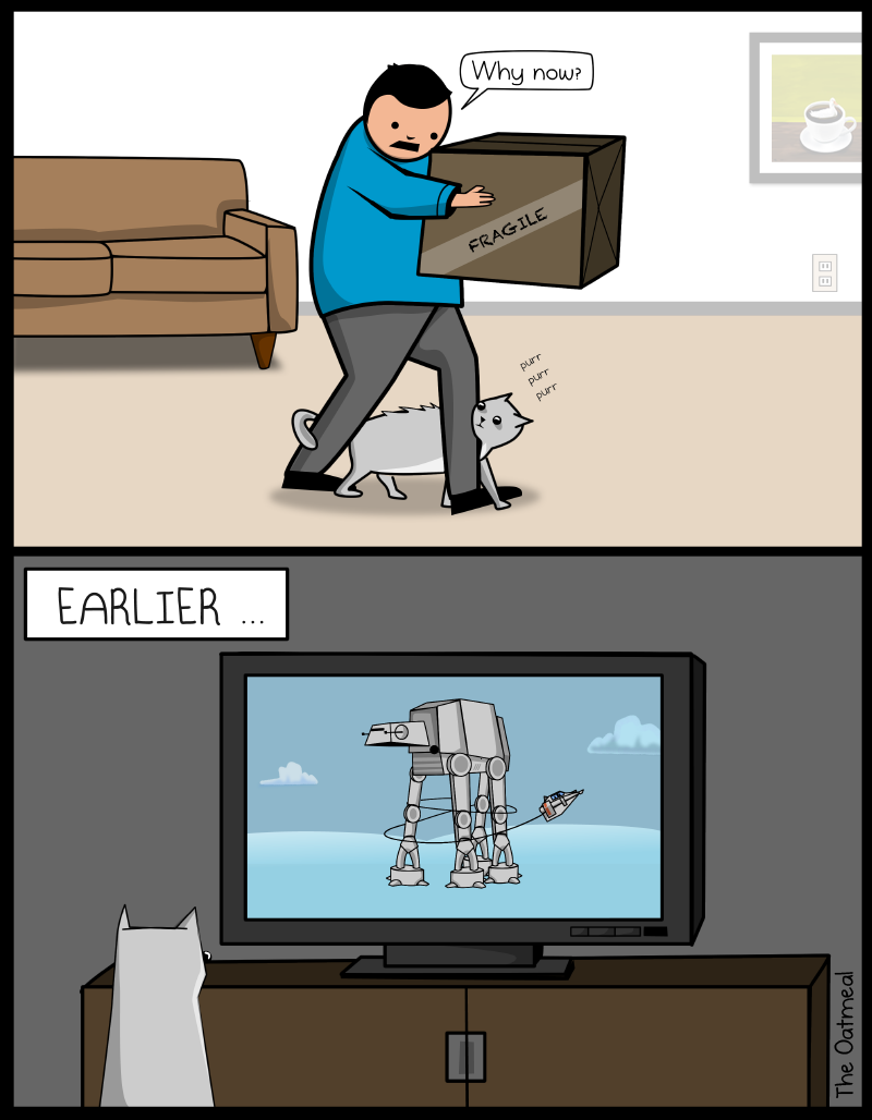 Cat-Cat versus AT-AT