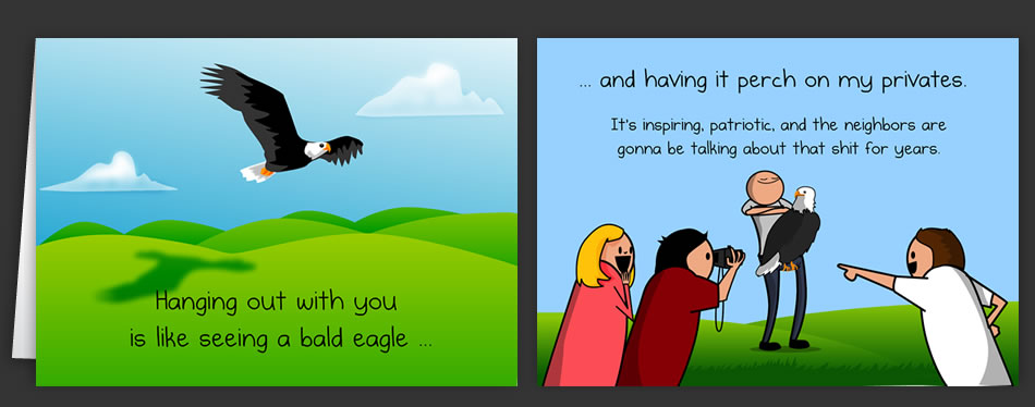 Horrible Cards: Greeting Cards by The Oatmeal