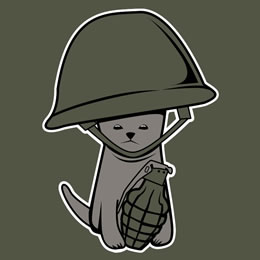 War Kitten Shirt