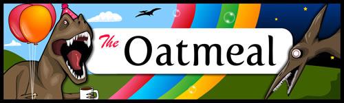 The Oatmeal Bumper Sticker