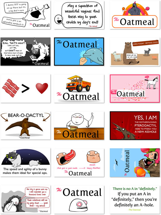 The Oatmeal Sticker Pack