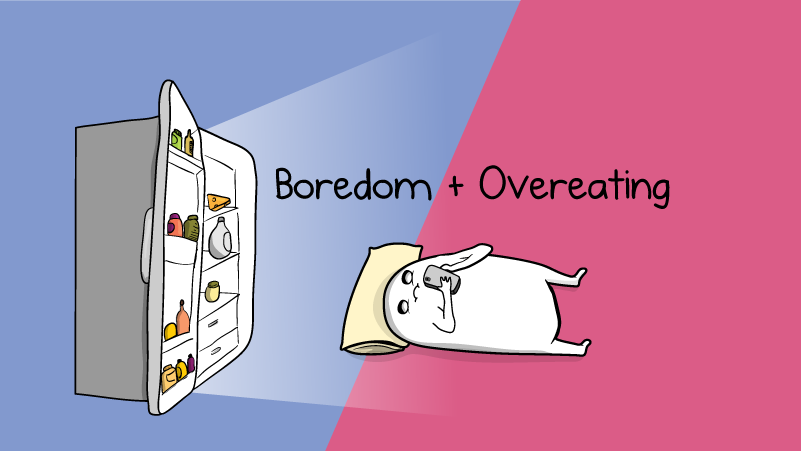 Boredom + Overeating