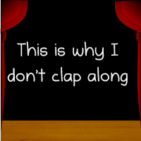 This is why I don't clap along