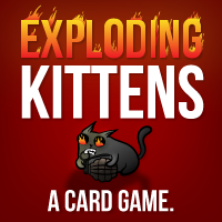 Announcing Exploding Kittens - a card game for people who are into kittens and explosions and laser beams and sometimes goats