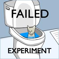 Failed Experiment