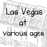 Las Vegas at various ages
