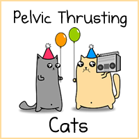 Pelvic Thrusting Cats