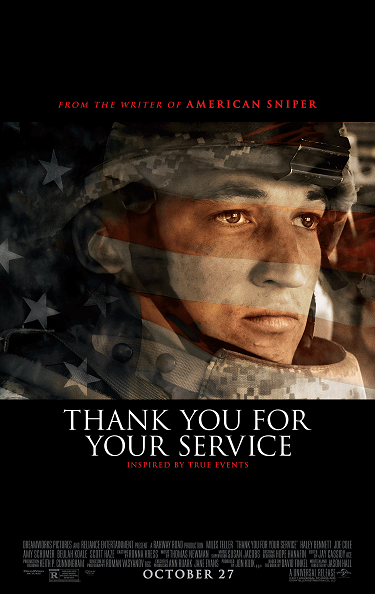 'Thank You For Your Service' Advance Screening Passes