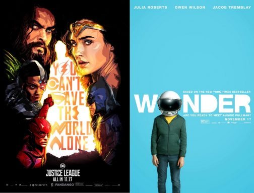 Luke Reviews 'Justice League' and 'Wonder'